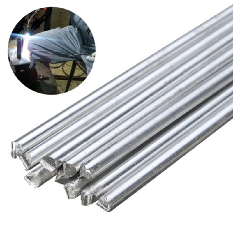 10pcs Low Temp Aluminum Alloy Silver Welding Brazing Solder Rod For Repair Set