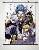 Home Decor Anime Hunter X Hunter Wall Scroll Poster Fabric Painting 036
