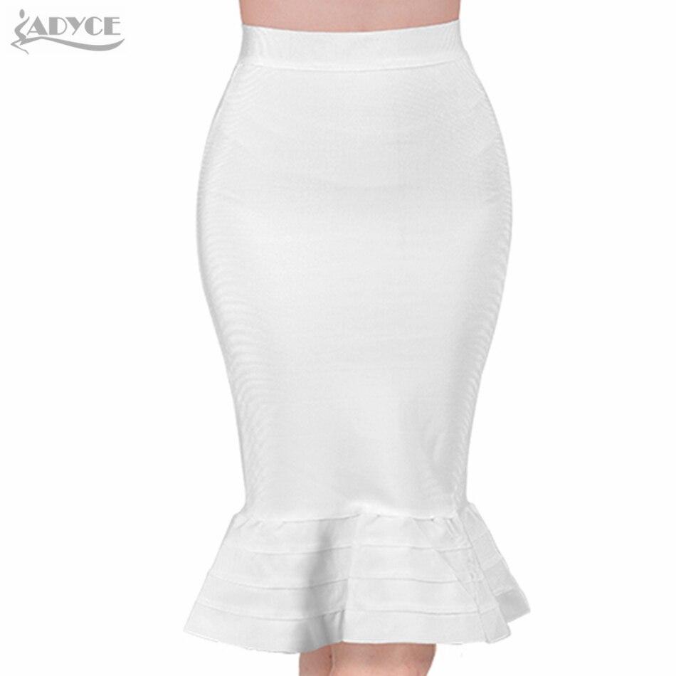 Летняя юбка оборками