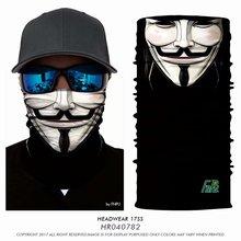 3D термальная ветрозащитная УФ-Бандана Велосипедный спорт волшебный шарф для пешего туризма шеи Теплая безымного маска повязка на голову головной убор для мужчин