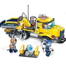 309pcs 2019 New Educational Building Blocks Toys Compatible Friends City Engineering Series Spar Squad Collection Figures Bricks