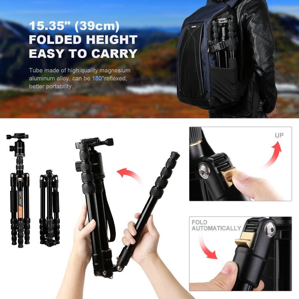 K&F CONCEPT KF-TM2515 fotoaparaadi statiivi kaasaskantav - Kaamera ja foto - Foto 2