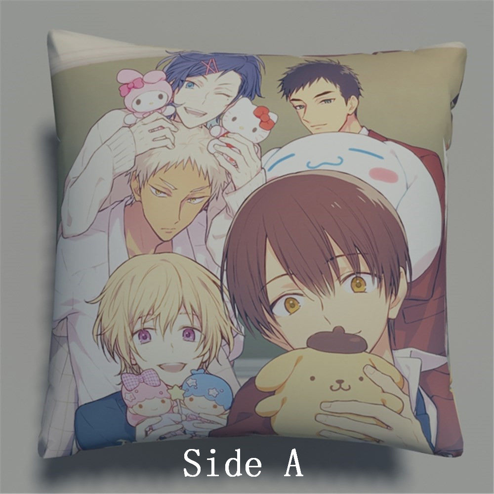 Sanrio Danshi Anime Two Side Pillowcases Hugging Pillow Cushion Case Cover Otaku Cosplay Gift New 582