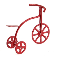Red Bicycle for Home Ornaments