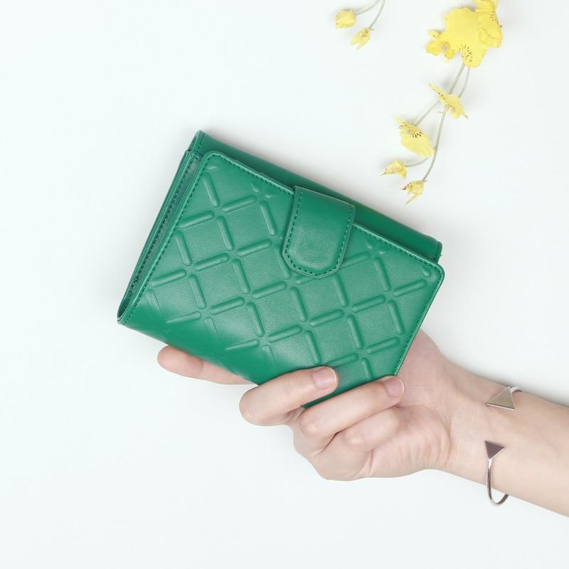2017 여성 지갑 짧은 여성 카드 홀더 지갑 가죽 작은 동전 지갑 지퍼 숙녀 돈 기하학 프리즘 럭셔리 브랜드