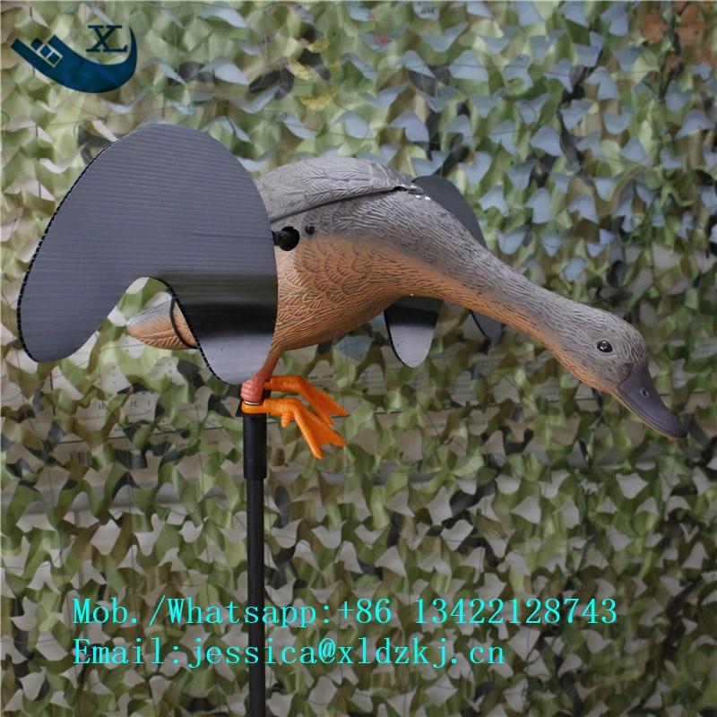 ФОТО Xilei Outdoors Duck Decoy Spinning Wings Motorized Duck Hunting Decoy