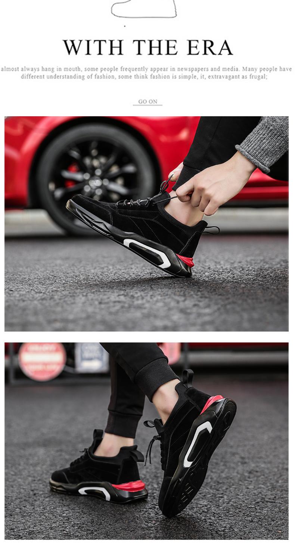2018 Spring/Autumn Men's Vulcanize Shoes Fashion Sneakers Men Casual Shoes Flats Men Shoes Chaussure Homme Designer Sneakers 19