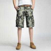 Summer Camouflage Hiking Shorts Men Board Beach Shorts