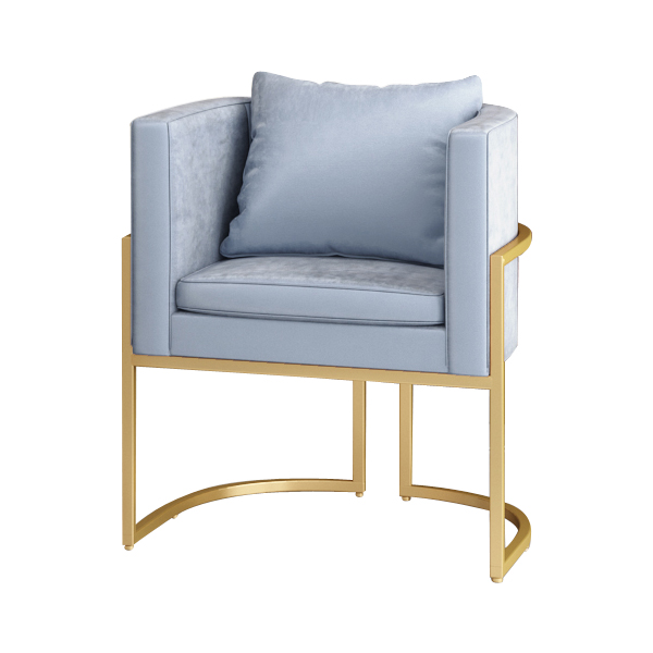 US $141.12 21% OFF|Fabric Office Sofa Reception Room Reception Area  Business Single Sofa Chair To Discuss Wrought Iron Sofa Makeup Chair-in  Living ...