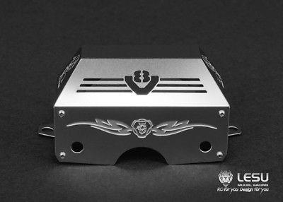 Lesu Metall Getriebe Motor Abdeckung Eine Für 1/14 Rc Tamiya Scania Traktor Lkw Auto Diy Modell Th04749 Rc-lastwagen
