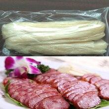 5pcx50cm Hot Dog Casing for Sausages Kitchen Grilled Sausage Salami Meat Kitchen Tool