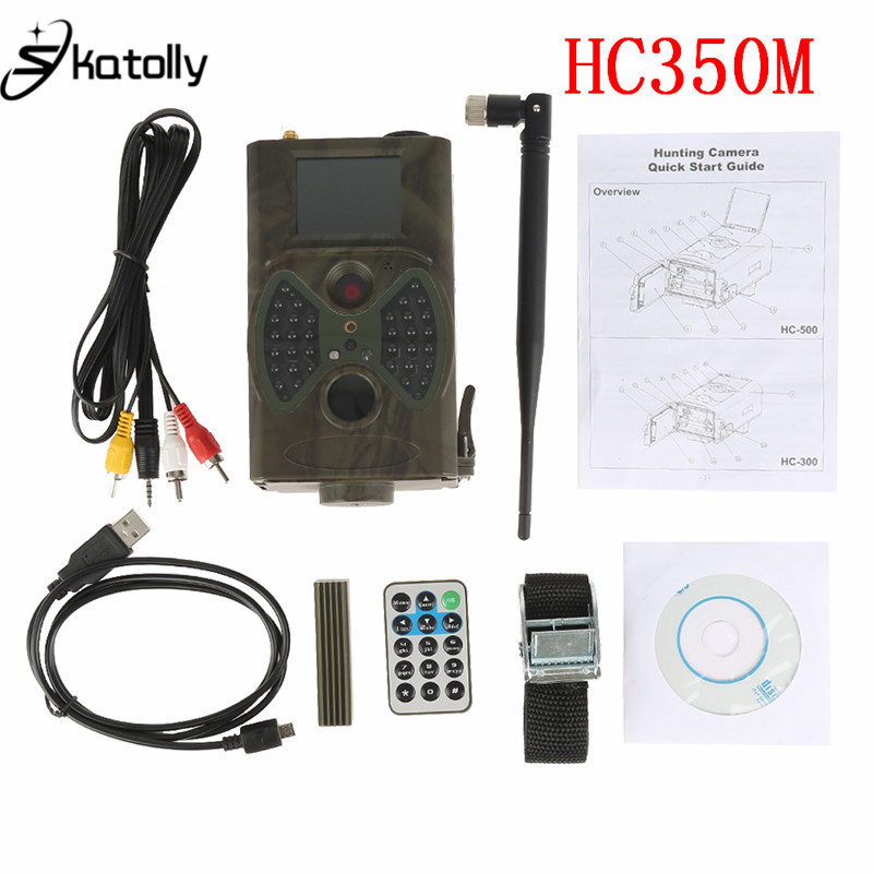 Skatolly HC350M Hunting Trail Camera 16MP 0.5s trigger MMS Photo Trap HD Scouting Infrared Outdoor Hunting Trail Video Camera hc500m hd gsm mms gprs sms control scouting infrared trail hunting camera hc 500m