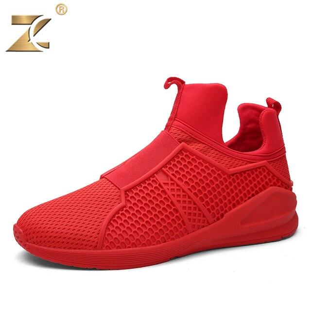 Z 2017 Designer Famous High-vamp Men Casual Shoes New Fashion Walking Outdoor Breathable White Shoes For Men sapatos casuais
