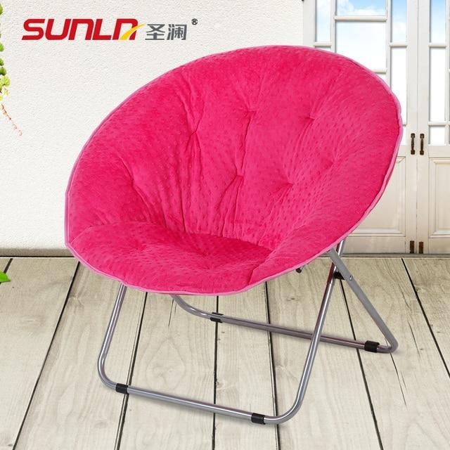 Queen Moon Chair Lazy sofa chair recliner outdoor leisure folding ...