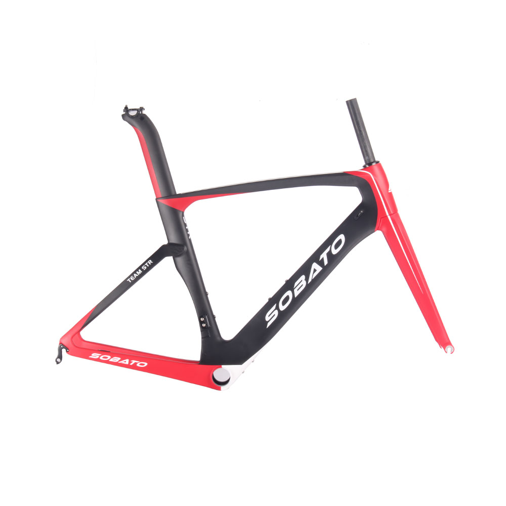 sobato aero design carbon road bike frame most