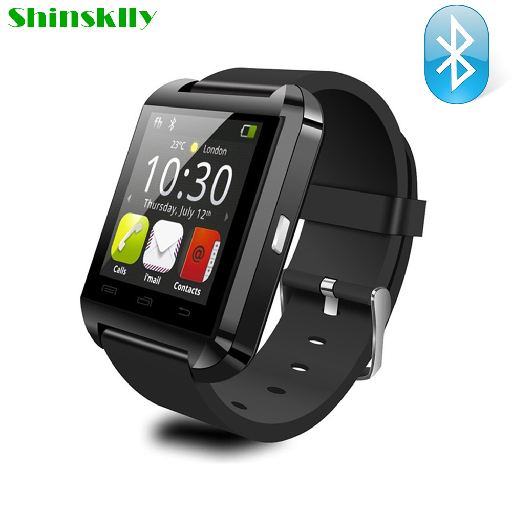 Bluetooth Smart Watch Men Women U8 for iPhone IOS Android Smart Phone Wear Clock Sport Wearable
