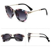 PANDDOG new arrival alloy luxury frame Sun glasses for women goggle UV400 pink tea black leopard print women sunglasses 5981