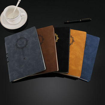 Notebook Stationery Leather Business Meeting Record A5 Paper Waterproof Diary Notepad Planner Journal agenda Gift office vintage thick paper notebook notepad leather bible diary book zakka journals agenda planner school office stationery supplies
