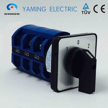 Tuv aprovado frete grátis universal interruptor de comutação 3 postion 690v 63a 3 pólos rotativo cam interruptor manual YMW26 63/3