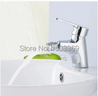 Wholesale and retail Bathroom high quality Brass Bidet faucet chrome bidet mixer hot and cold bidet taps with promote price