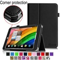 Alta qualidade do Couro Pu Fique Tablet Case Capa Para Acer Iconia A1-830 7.9-Inch