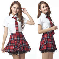 Korean Japanese Version Frauen JK Anzug Anime Cosplay Kostüme Student Mädchen Schuluniform Rock Plaid Spitze Navy Sailor Kleidung