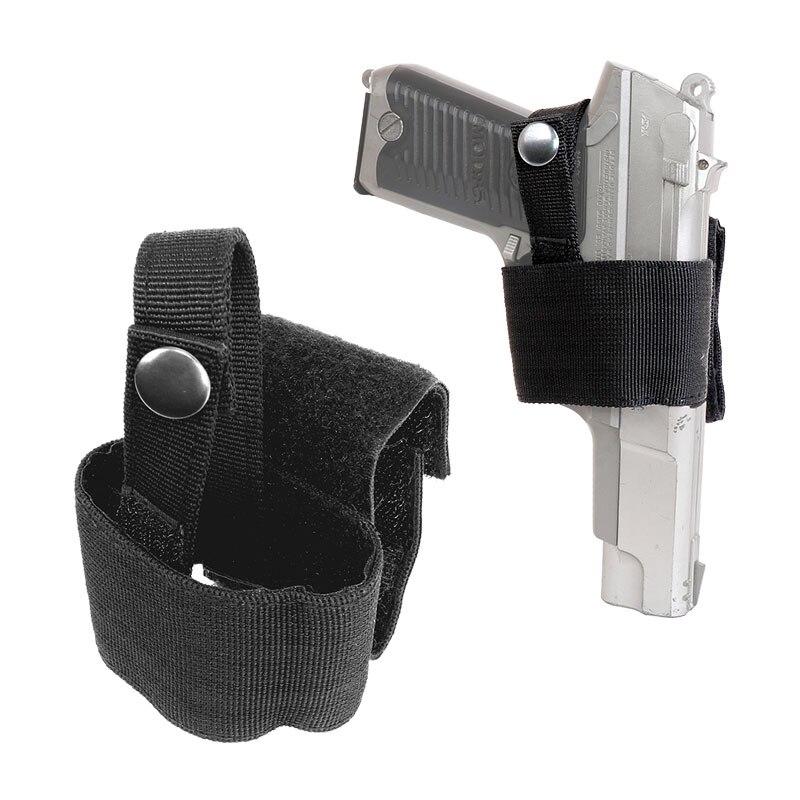 CQC Concealed Waist Gun Holder Lightweight Compact Double-Ended Pistol Handgun Pouch Modular Universal Holster