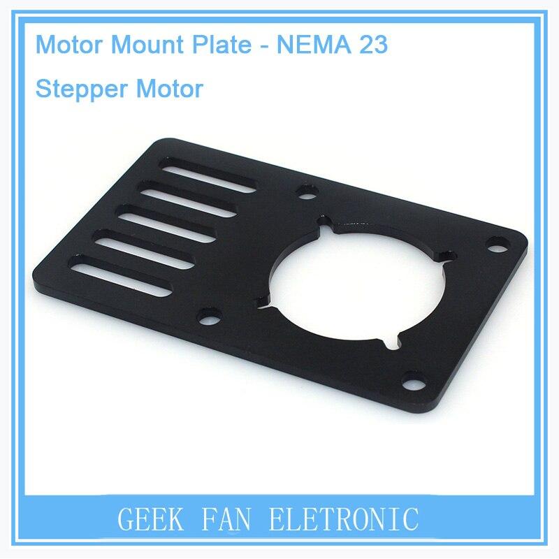5pcs For Openbuilds V-Slot Motor Mount Plate for NEMA23 90*60*3mm Stand Holder CNC Aluminum Bracket for Kossel Printer 3D0270 1pcs openbuilds motor mount plate for nema 17 82 39 5 3mm aluminum alloy cnc special fixing plate for 3d printer
