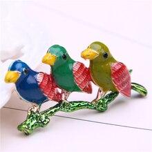 enamel pin bird brooches for women cute pins metal brooch lapel badge men jewelry broches