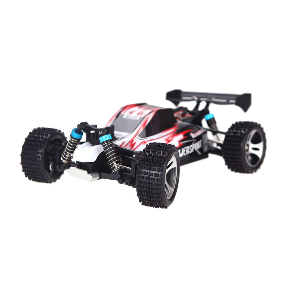 WLtoys A959 Electric Rc Car Nitro 1/18 2.4Ghz 4WD Remote Control Car High Speed Off Road Racing Car Monster Truck For Kids-Red