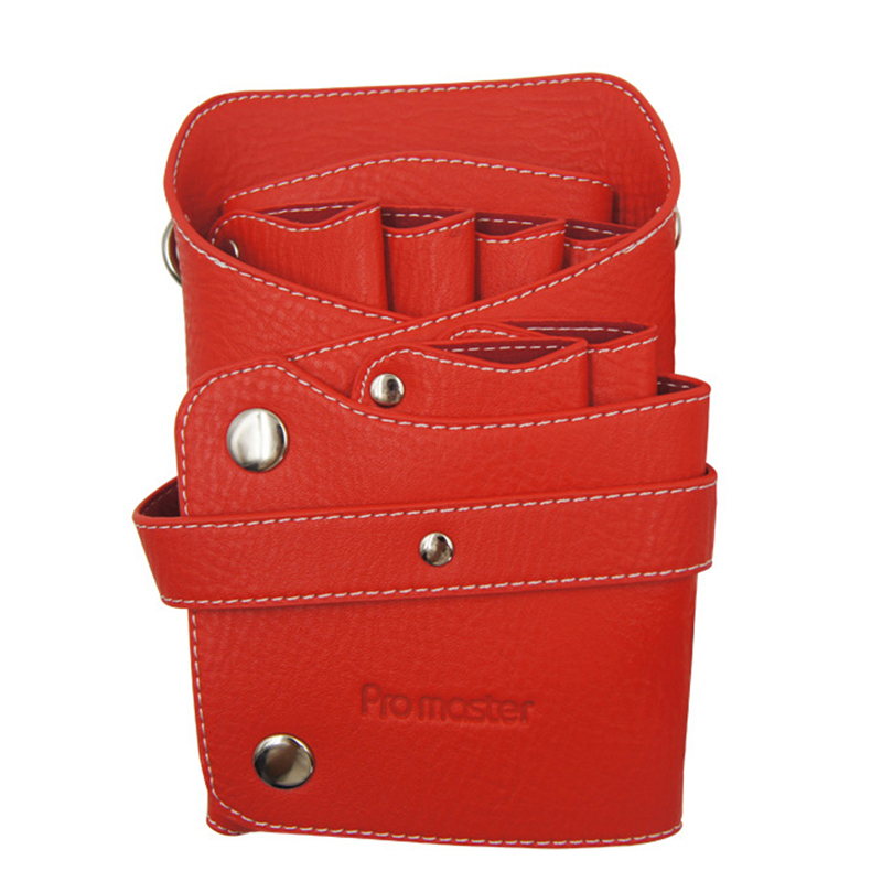 Leather Barber Scissor Bag Salon Hairdressing Holster Pouch Case with Waist Shoulder BeltLeather Barber Scissor Bag Salon Hairdressing Holster Pouch Case with Waist Shoulder Belt