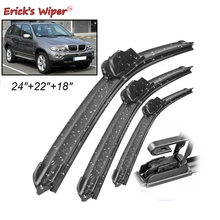 "Erick's Wiper Front& Rear Wiper Blades Set Kit For BMW X5 E53 2000- 2006 Windshield Windscreen 24""22""18"""