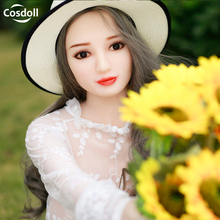 Cosdoll 165cm Real Asian Sweet Female Silicone Sex Dolls with Metal Skeleton Lifelike 3D Vagina Anal Oral Sex for Men Love Doll