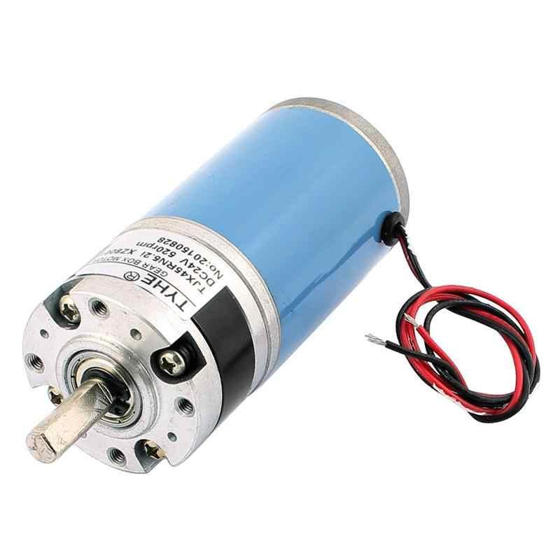 TJX45RN5.2i-ZX8001 8mm średnica wału DC redukcji przekładni planetarnej silnik 24 V 520 obr/min przez urządzenia do uzdatniania automatyczne sejf