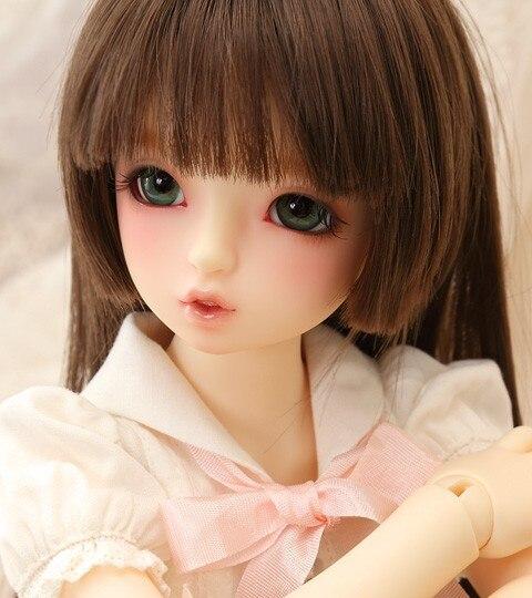 bjd doll SD doll baby girl with sdm 1/4 volks mako body toy doll doll High Quality free eyes
