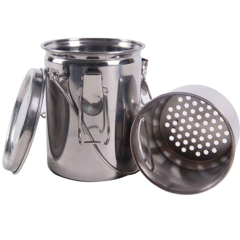 MyLifeUNIT Seal Brush Washing Bucket Portable Artist Stainless Steel Brush Washer Painting Pen Washing Tool