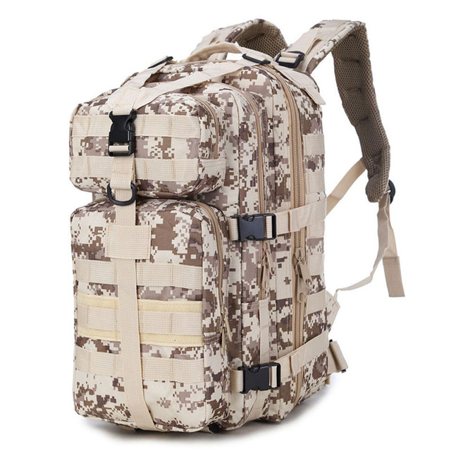 d20888f3c 35L Men Women Military Army Outdoor Tactical Backpack Trekking Sport Travel  Rucksacks Camping Hiking Camouflage Bag