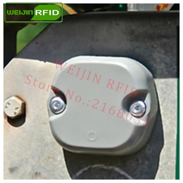 UHF RFID metal tag omni-ID EXO750 915m 868mhz Impinj Monza4QT 10pcs free shipping durable ABS smart card passive RFID tags