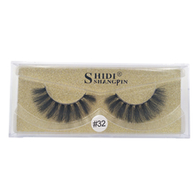 SHIDISHANGPIN  1 pairs false eyelashes natural long mink lashes hand made lashes 3D mink false lashes makeup 1 box false lashes цены онлайн