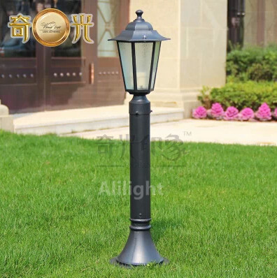 US $64 99 |Outdoor Lighting Classical Garden Landscape Lighting Aluminium  Fitting Waterproof Landscape Lights E27 Road Lamp Fixtures-in LED Lawn  Lamps