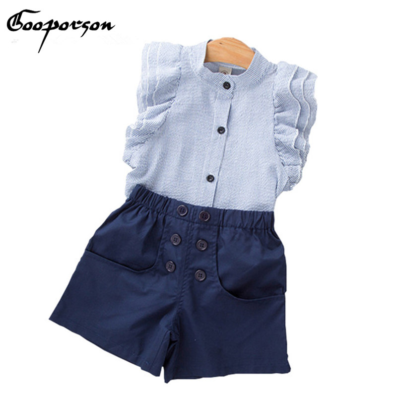 GOOPORSON Sets Clothing 2Pcs For Baby Girls Clothes