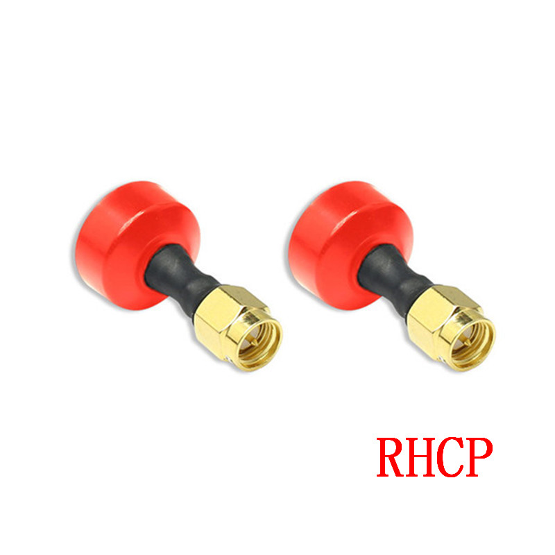 2PCS FuriousFPV BigMac 5.8G 2.2dBi LHCP FPV Antenna SMA for RC Models Racing Drone Multicopter Spare Parts Accessories 915mhz 7dbi high gain fpv car sucker antenna rp sma male for rc fpv racing camera drone spare parts accessories