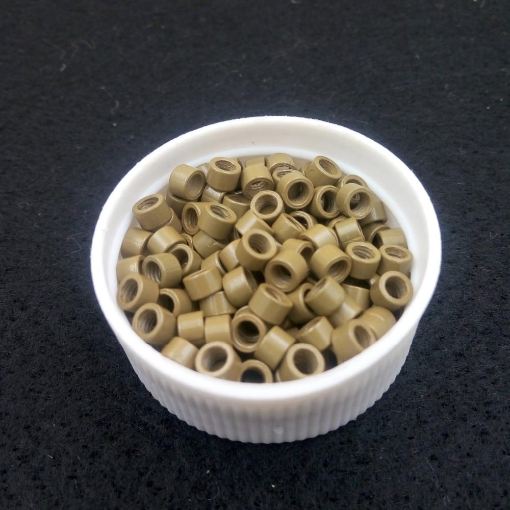 1000pcs 4.0mm Aluminium Micro Ringar Pärlor Länkar med - Hårvård och styling - Foto 5