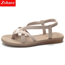 Women Sandals 2019 New Flat Sandals Women Summer Shoes Comfortable Non-slip Flip Flops Beach Shoes Woman Beach Sandales Femme недорго, оригинальная цена