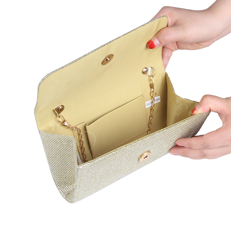 JULY'S SONG Women Evening Bag Party Banquet Glitter Bag For Women Girls Wedding Clutches Handbag Chain Shoulder Bag Bolsas Mujer 3