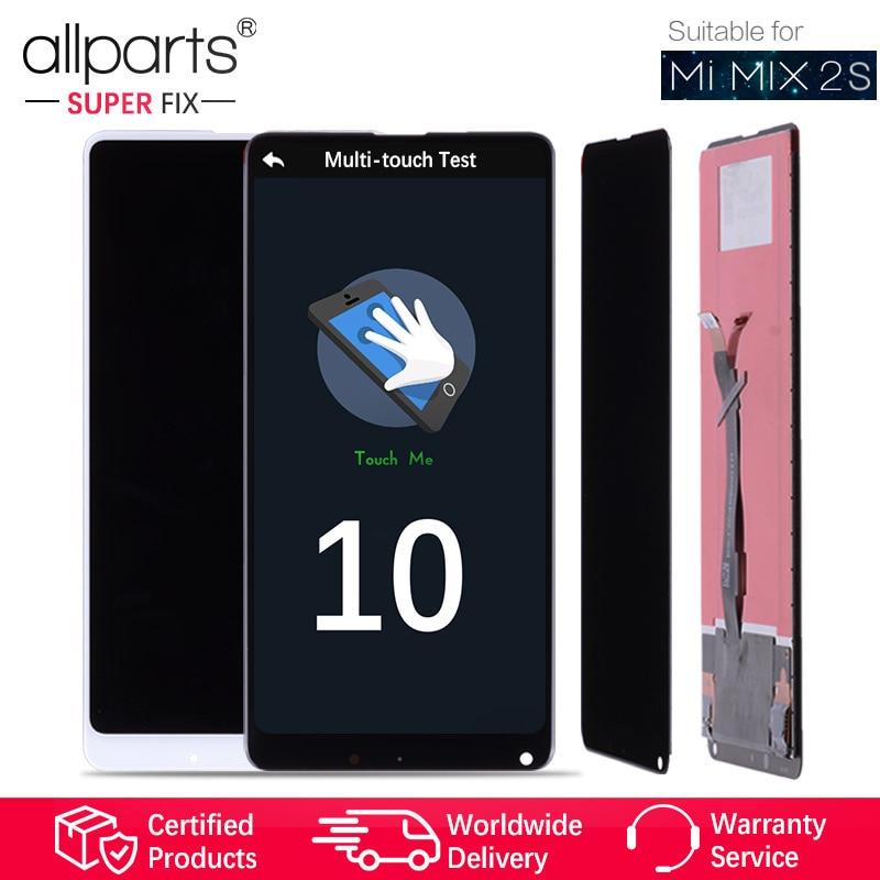 5.99 Оригинальный тачскрин дисплей экран для XIAOMI MI MIX 2S сенсорный дисплей Оригинал LCD с тачскрином в рамке замена запчасти MIX 2S Черный белый