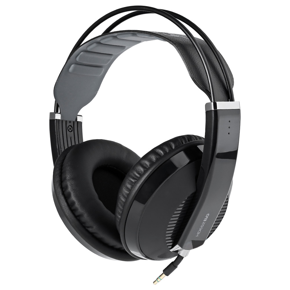 Original Superlux HD668B Professional Semi-open Studio Standard Dynamic Headphones Monitoring For Music Detachable Audio Cable superlux hd 562 omnibearing headphones noise canceling monitoring rotatable