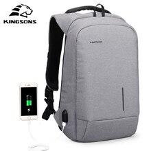 Kingsons KS3149W Для мужчин рюкзак для 13 15.6 дюймов ноутбук рюкзак большой Ёмкость Повседневное Стиль Сумка водоотталкивающая рюкзак