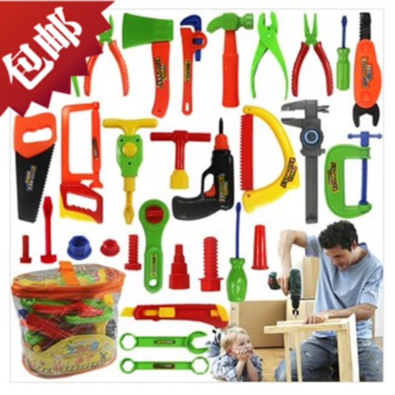 30 Pcs Set Educational Baby Plastic Toys Carpenter Tools
