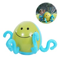 Outdoor fun sport toy ball inflatable swimming pool games balls water beach kids Spray Sprinkler ball